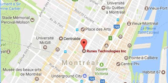 Runes Technologies - Carte